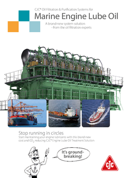 Marine Engine Lube Oil Brochure