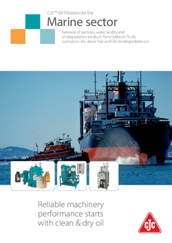 Marine sector brochure