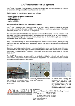 MARINE_Maintenance of oil systems