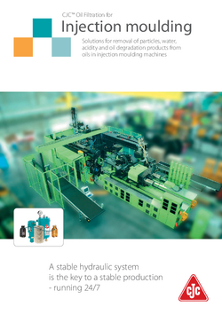 Injection moulding brochure