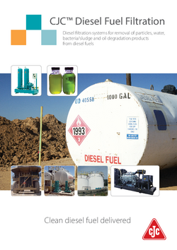 Diesel fuel filtration brochure